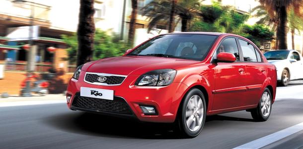 В России начались продажи нового Kia Rio.