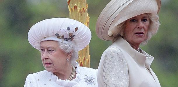 Елизавета II и Камилла Паркер-Боулз. Фото: Getty Images/Fotobank.ru