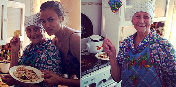 Ирина Шейк и ее бабушка Галия Шайхисламова. Фото: web.stagram.com @irinashayk