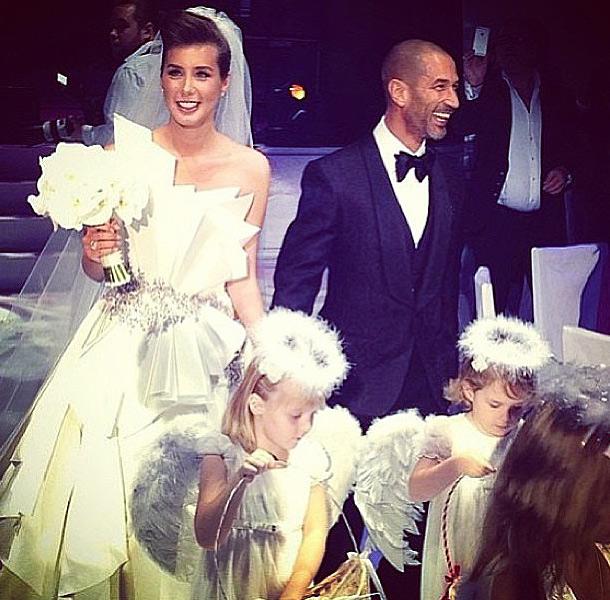 Кети топурия сыграла шикарную свадьбу