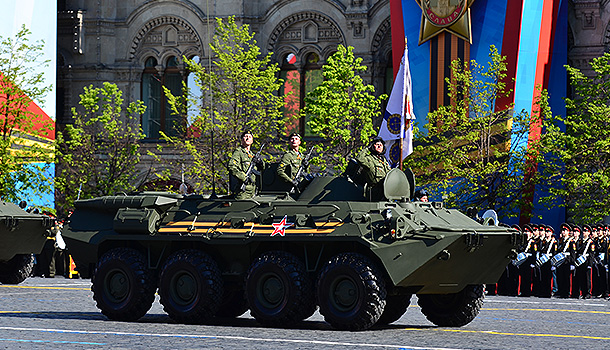 Россия поразила мощью в день победы
