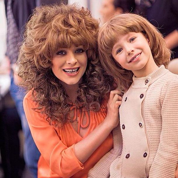 Юлия началова с дочкой Верой. Фото: instagram.com/julianachalova