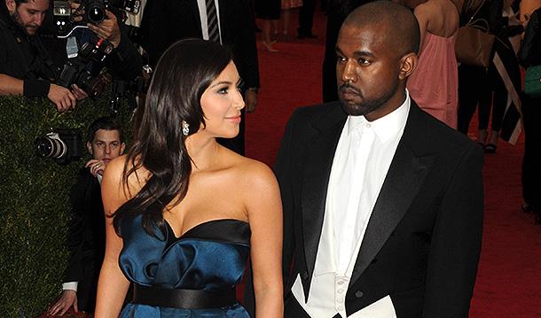 Ким Кардашьян и Канье Уэст. Фото: GLOBAL LOOK press
