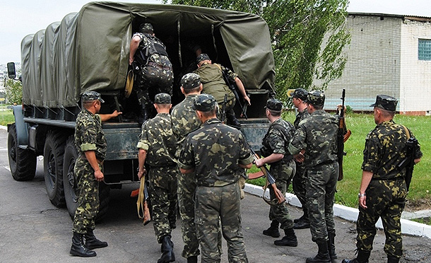 Украинские солдаты массово