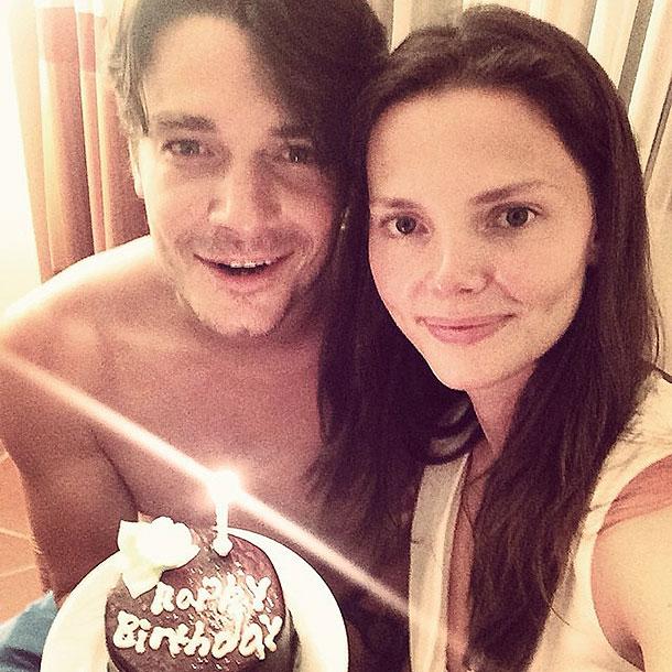 Максим Матвеев и Лиза Боярская. Фото: instagram.com/lizavetabo