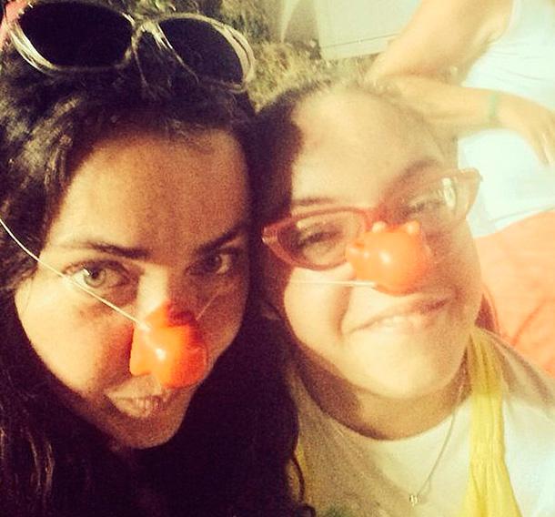 Лолита с дочерью Евой. Фото: instagram.com/lolitamilyavskaya