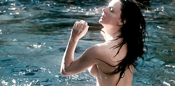 Лиза Боярская. Кадр из фильма