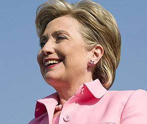 Хилари Клинтон прибыла в Киев