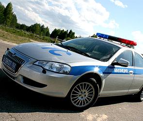 Volga Siber на службе милиции. Фото: Дни.Ру/Федор Буцко