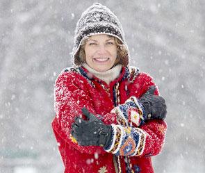К Киеву приближается зима