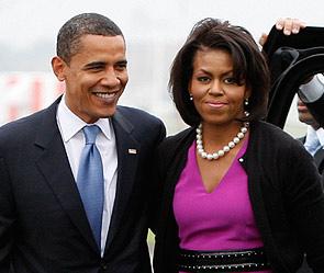 Барак и Мишель Обама. Фото: Reuters