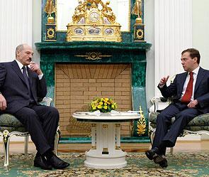 Александр Лукашенко и Дмитрий Медведев. Фото: ИТАР-ТАСС