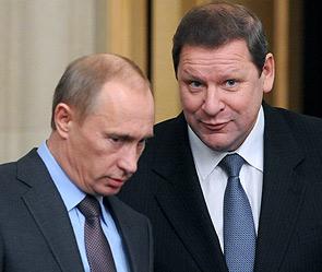 Владимир Путин и Сергей Сидорский. Фото: ИТАР-ТАСС