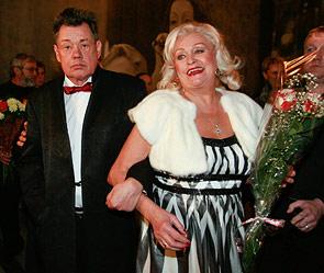 Николай Караченцов с супругой Людмилой Поргиной. Фото: Дни.Ру/Дмитрий Коротаев