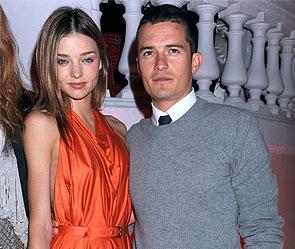 Миранда Керр и Орландо Блум. Фото: Rex Features/Fotobank.ru
