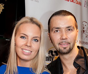 Денис Клявер с женой Ириной. Фото: Виктор Бойко