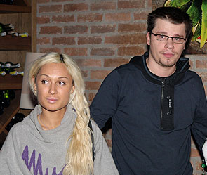 Гарик Харламов и Юля Лещенко. Фото: Дни.Ру/Сергей Иванов