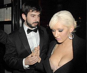 Кристина Агилера и Джордан Братман. Фото: Rex Features/Fotobank.ru