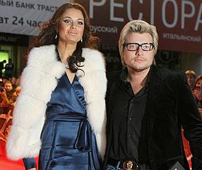 Оксана Федорова и Николай Басков. Фото: ИТАР-ТАСС