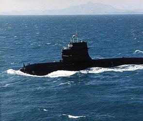 секретная японская подводная лодка