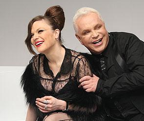Анна Бизер и Борис Моисеев. Фото: пресс-служба певца