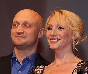 Гоша Куценко и Кристина Орбакайте. Фото Дни.Ру/ Дмитрий Коротаев