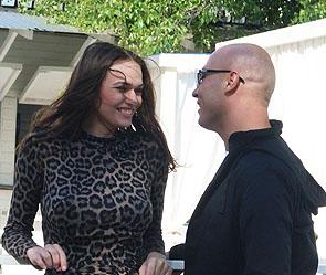 Алена Водонаева и певец Никита. Фото: пресс-служба артиста