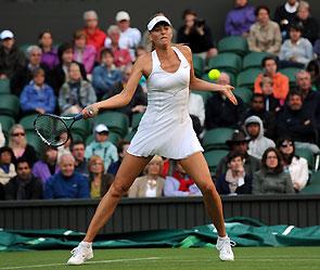 Мария Шарапова. Фото: wimbledon.com