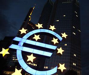 Курс евро падает