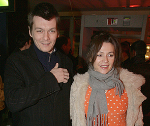 Филипп Янковский и Оксана Фандера. Фото: Дни.Ру/Артем Коротаев
