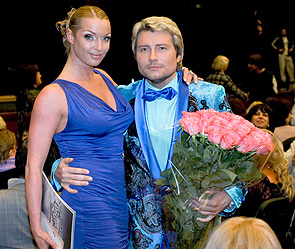 Анастасия Волочкова, Николай Басков. Фото: ИТАР-ТАСС