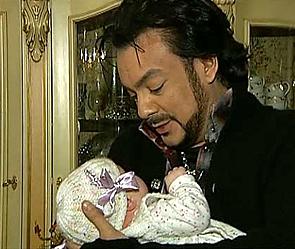 Филипп Киркоров и дочь Алла-Виктория. Фото: 1tv.ru