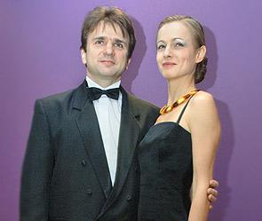 Тимур Кизяков с женой Еленой. Фото: ИТАР-ТАСС