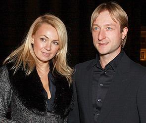 Яна Рудковская, Евгений Плющенко. Фото: ИТАР-ТАСС