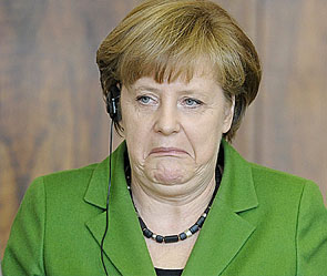 Канцлер Германии Ангела Меркель на открытом уроке по географии в одной из международных европейских школ не смогла...