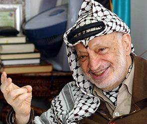 Ясир Арафат. Фото: Getty Images/Fotobank.ru