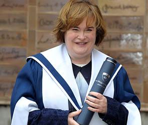 Сьюзан бойл стала почетным доктором