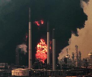 На заводе в ХМАО сгорели рабочие