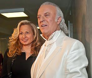 Илья Резник с супругой Ириной. Фото: ИТАР-ТАСС