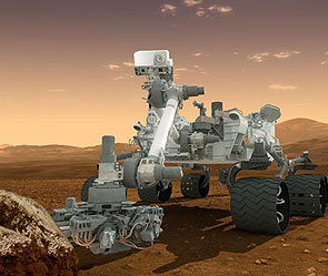 Марсоход Curiosity. Фото: nasa.gov
