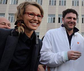 Ксения Собчак провела ночь с Максимом Виторганом