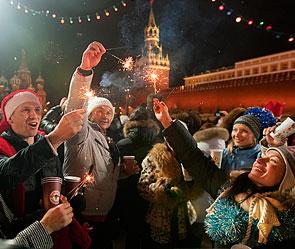 Москва встретит 2013 год без алкоголя
