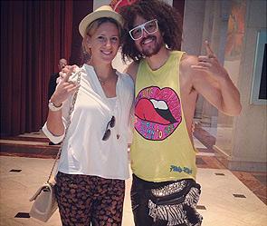 Виктория азаренко и редфу фото instagram