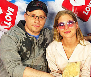 Гарик Харламов и Кристина Асмус. Фото: instagram.com @asmuskristina