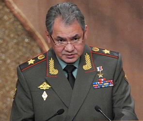 армейски генерал Сергей Шойгу