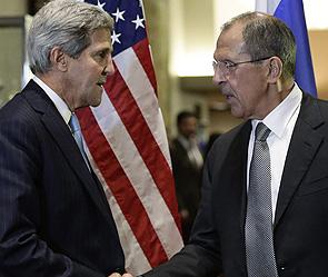 Джон Керри и Сергей Лавров. Фото: ИТАР-ТАСС