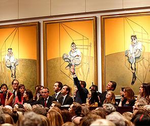 Триптих Фрэнсиса Бэкона. Фото: christies.com