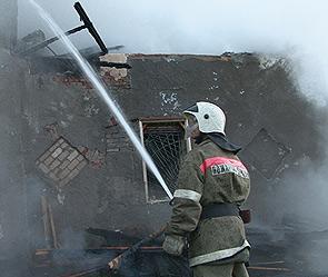При пожаре в оренбурге сгорели дети