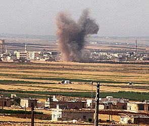 Израиль нанес удар по сирийской армии