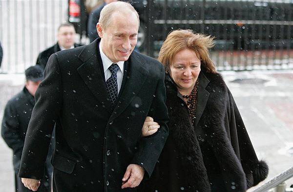 Владимир и людмила путины фото риа